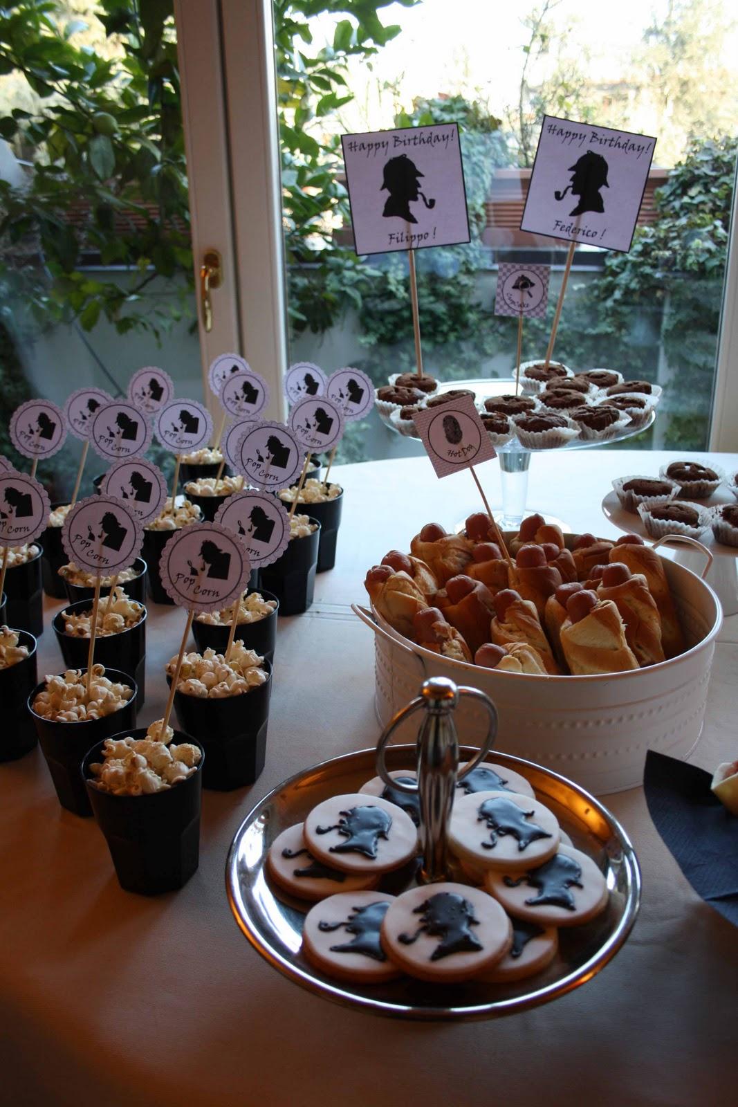 Festa Compleanno 40 Anni Uomo feste a tema per ragazzi: sherlock holmes party - ornella d