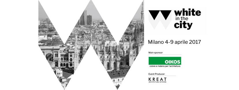 White in the city – Milano Design Week 2017: un percorso in bianco a Milano alla ricerca di una nuova consapevolezza